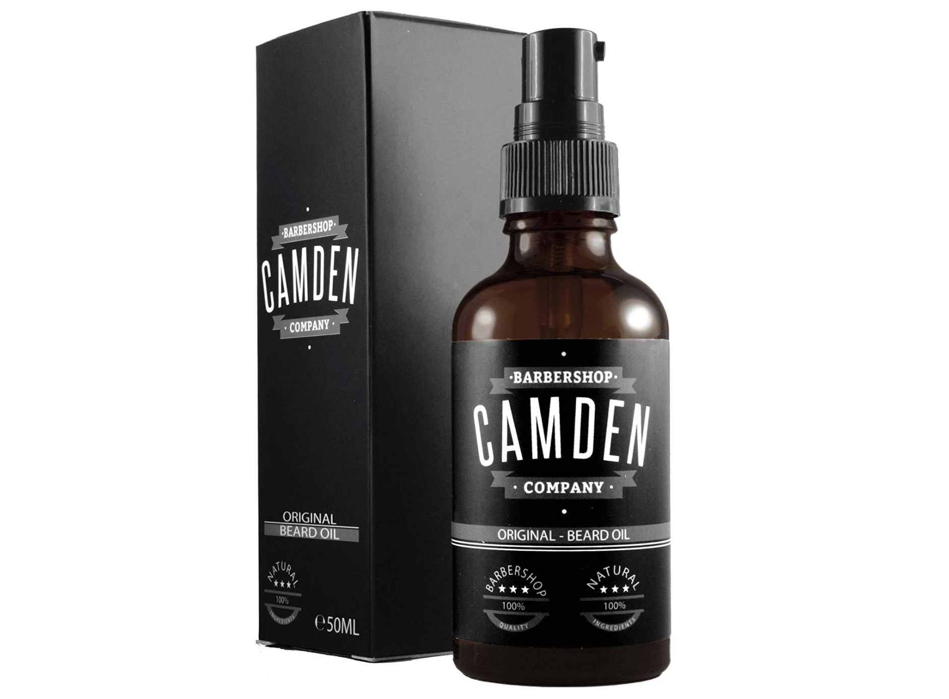 Olio da barba Camden Barbershop Company