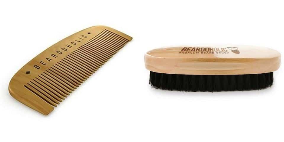 Differenze tra pettine da barba e spazzola da barba