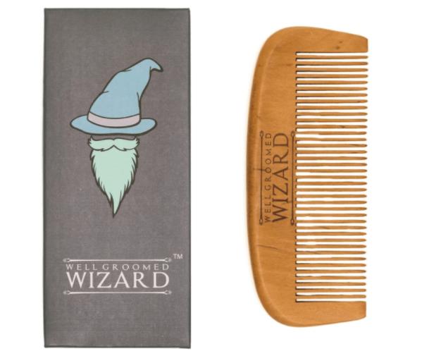 Pettine da barba Well Groomed Wizard