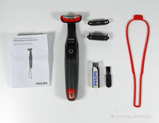 Philips BG105_10 accessori