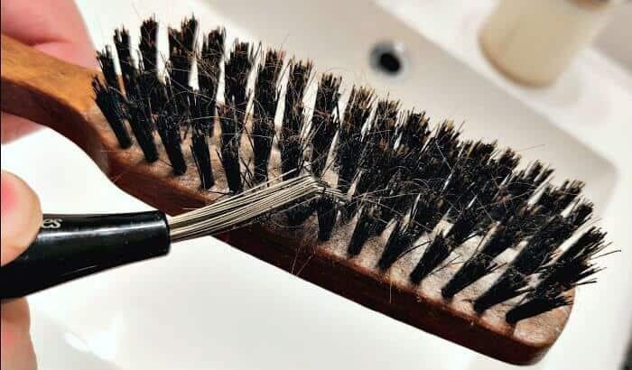 Spazzola da barba come pulirla