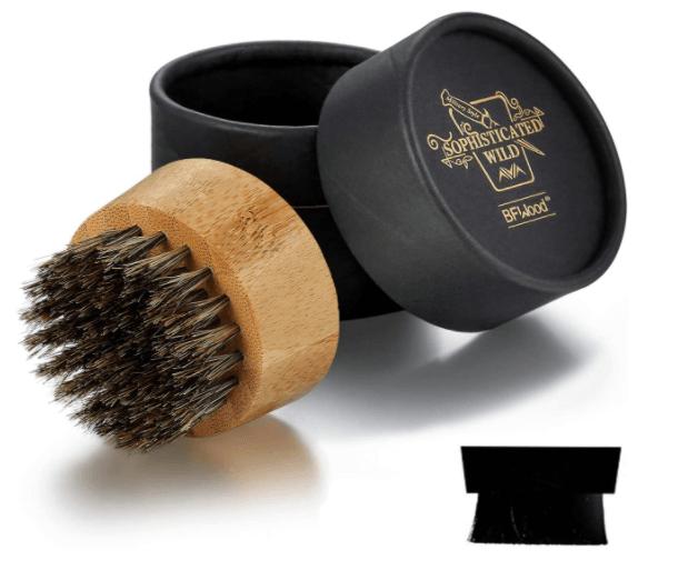 Spazzola da barba rotonda BFWoods