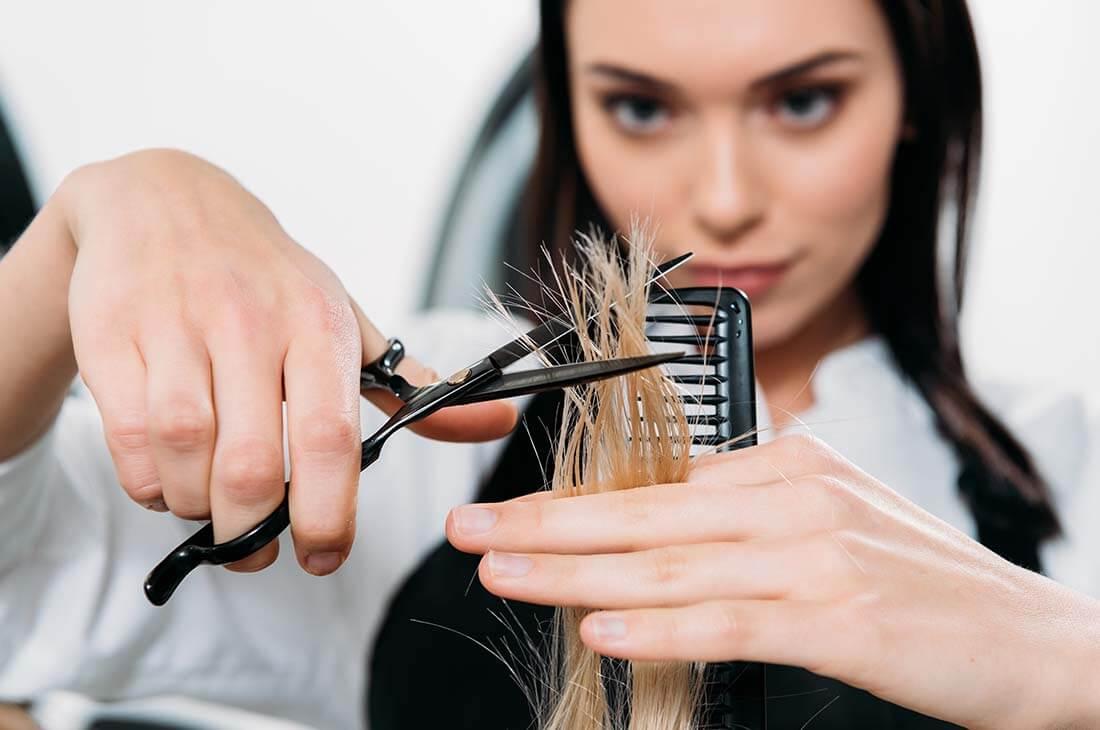 Tagliare i capelli nel modo sbagliato
