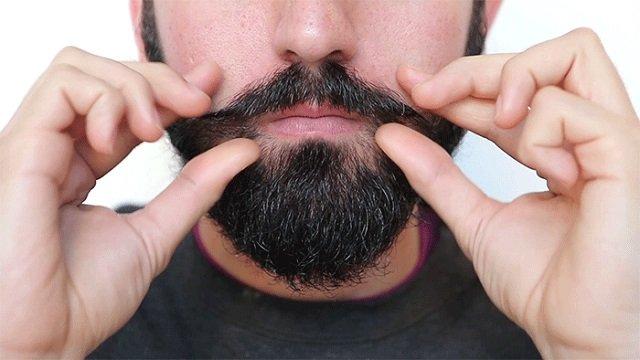 Cura della barba si parte dal viso