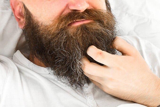 Prurito Barba