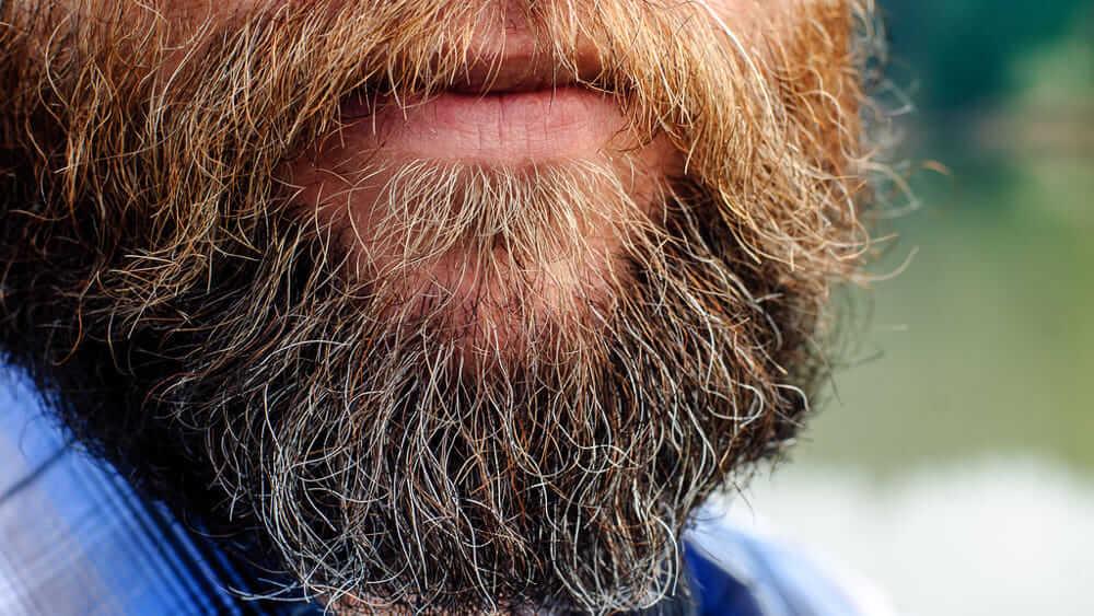 Come risolvere il problema della barba ingiallita