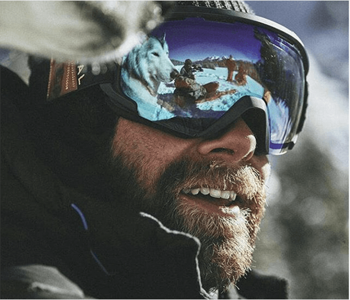 La barba protegge dal freddo