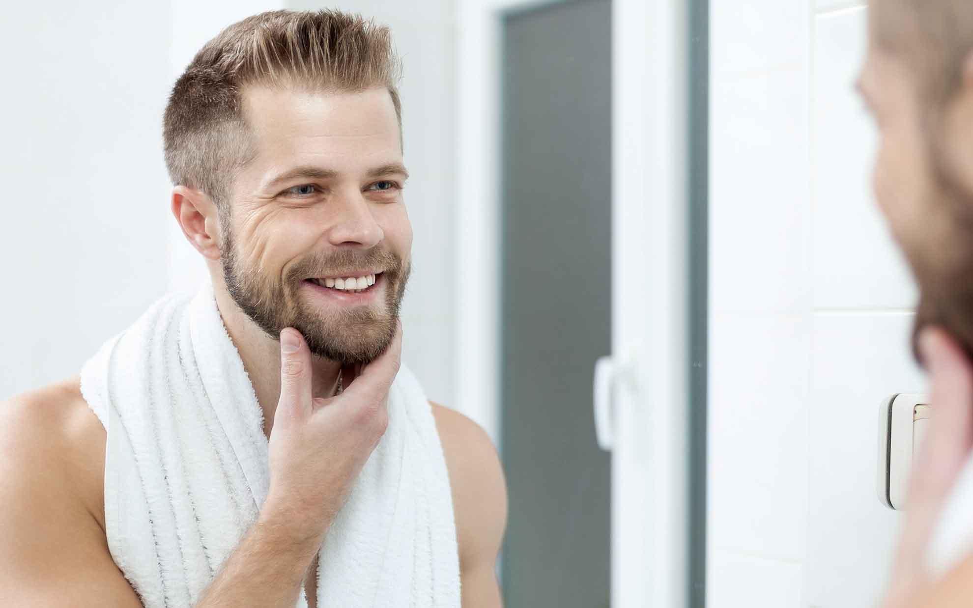 barba migliora la vitalità della pelle