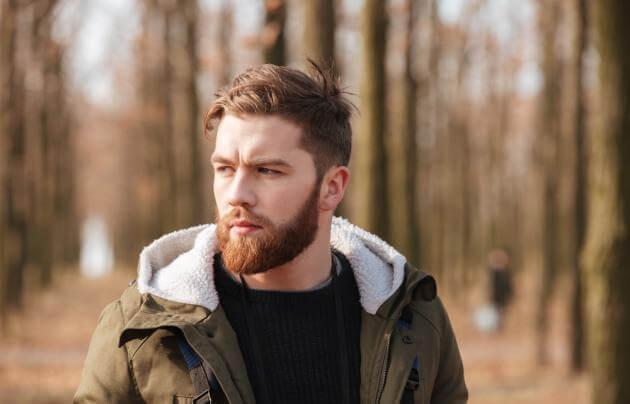 La barba perfetta per un viso quadrato