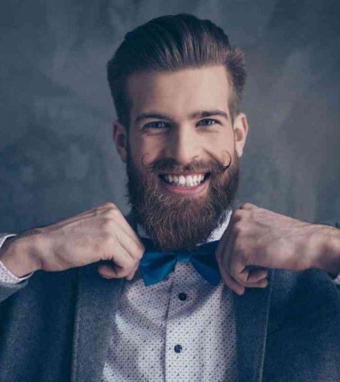 scrub uomo per una barba perfetta